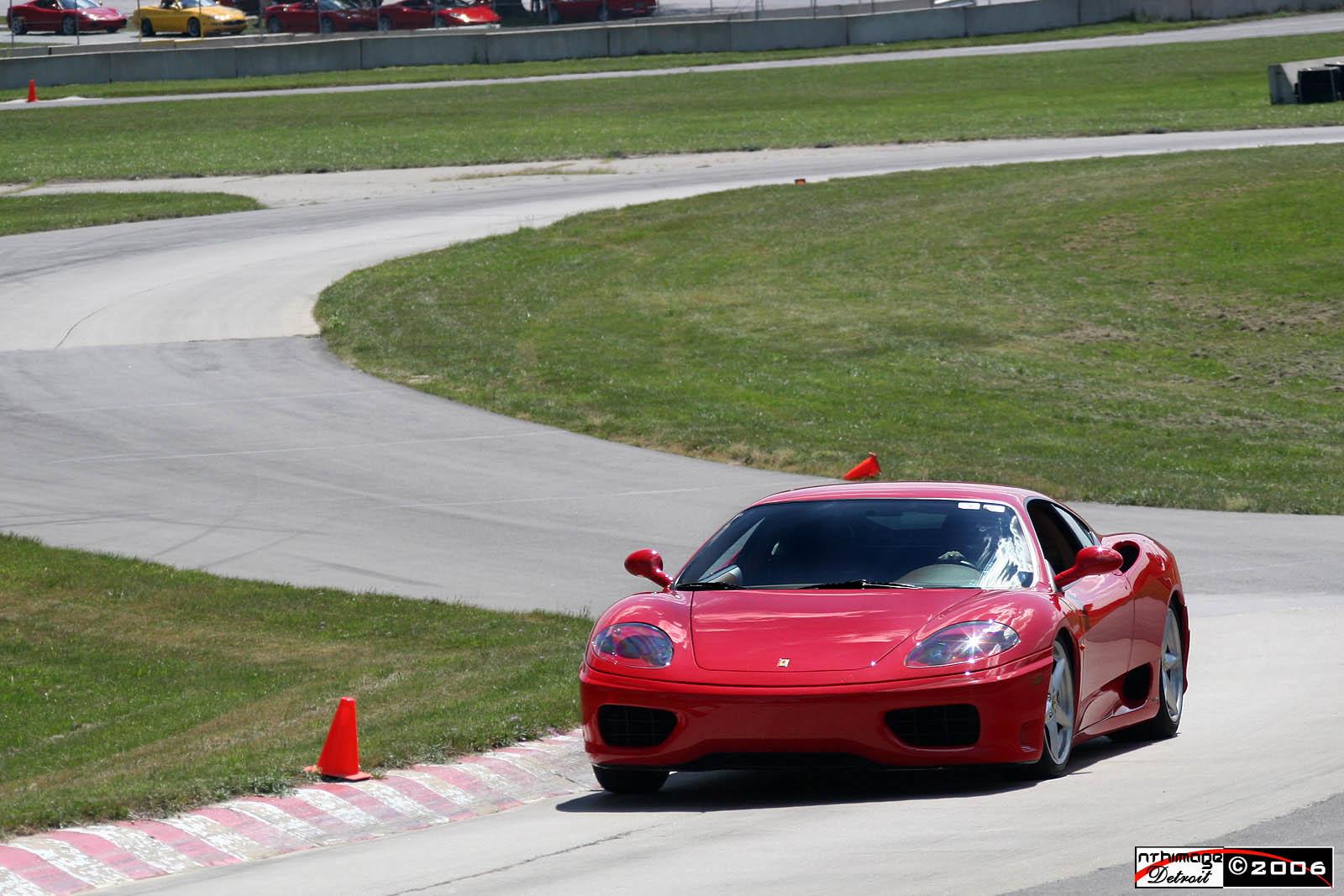 Nthimage Cauley Ferrari Track Day Waterford Hills